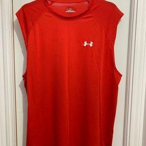 Under Armour Men's Heat Gear Sleeveless Shirt